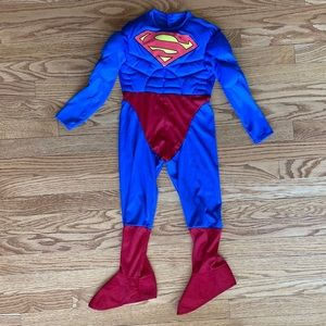 Superman Costume Size 3T